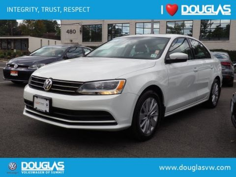 Certified Pre-Owned 2016 Volkswagen Jetta 1.4T SE W/CONNECT