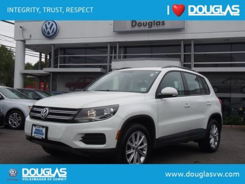 Certified Pre-Owned 2017 Volkswagen Tiguan 2.0T Limited S 4Motion
